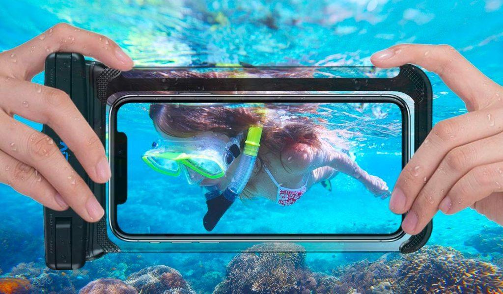 pochette etanche smartphone
